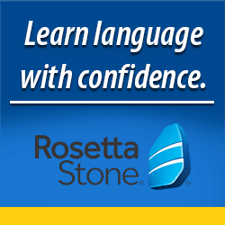 Click here to login to Rosetta Stone