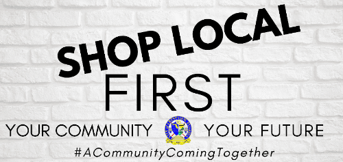 Support local Business  Shop Local  Your Community  Your Future