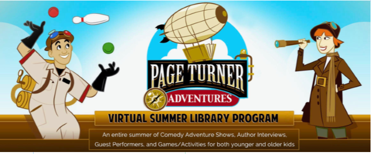 Page Turners Adventure Link to Register
