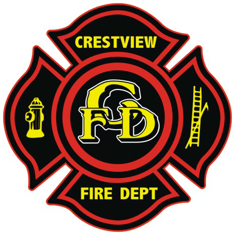 Crestview Fire Department Logo