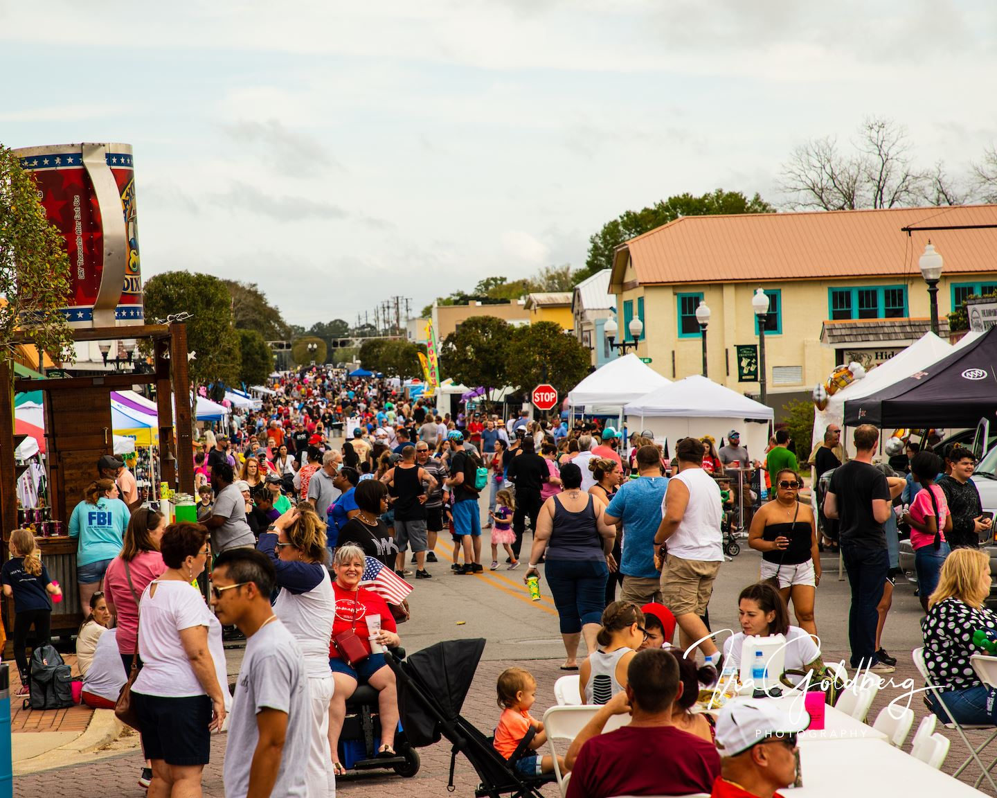 Organizers estimate as many as 12,000 people attended this year's Triple B barbecue festival March 2