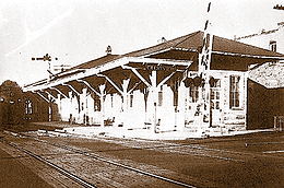 Historic train depot image