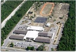 Aerial of Walker Elementary School