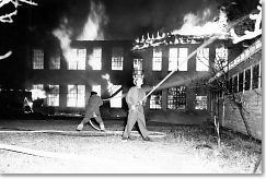 Fire at CHS - December 1953
