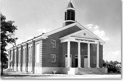 First Baptist Church - Circa 1940s